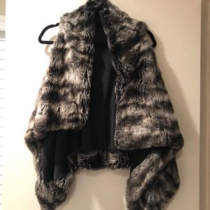 Ark and Co faux fur vest! Really soft!